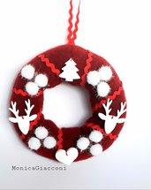 Ghirlanda natalizia morbidosa