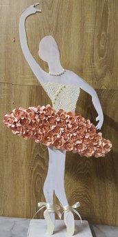 Una ballerina shabby chic - decorazione