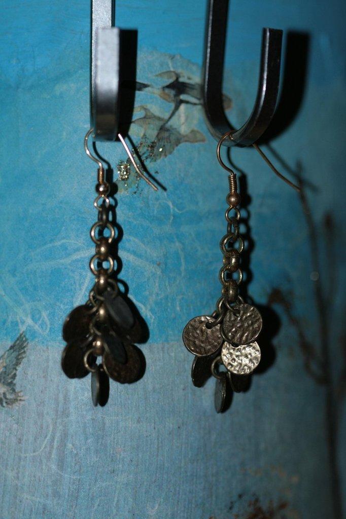 orecchini charm monete