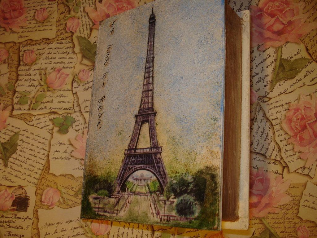 Libro contenitore France