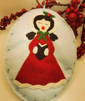 Cantrice dolce Natale