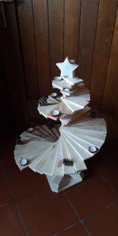Albero di Natale in Legno a Spirale