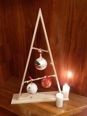 Albero di Natale con Addobbi
