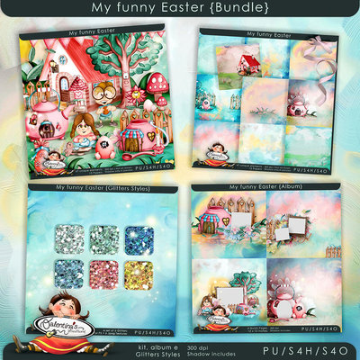 My Funny Easter {Bundle}