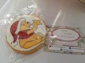 Biscotto winnie the pooh natale disegnato sweet table decorazioni Decorazioni natale