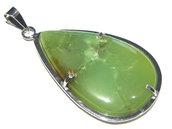 ciondolo crisoprasio verde