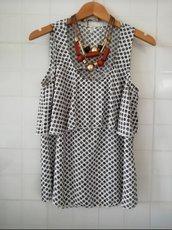 Camicia donna casacca giro amica misshobby usato in estate abbigliamento