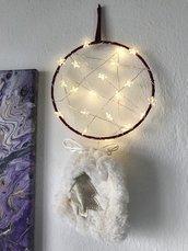 Acchiappasogni fuoriporta luminoso | decorazione natalizia