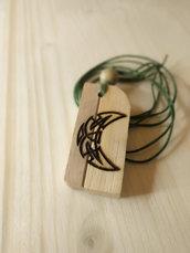 Ciondoli in legno