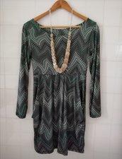 Vestito casacca donna moda www.misshobby.com stile impero usato in abbigliamento