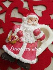 Stampo babbo Natale per addobbi albero