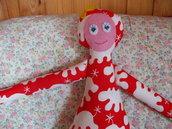 Bambola in tessuto