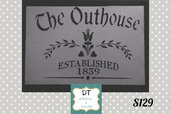 s129 outhouse label