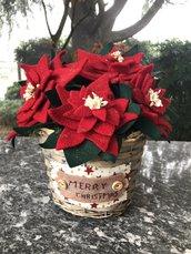 Natale - cestino con stelle di Natale