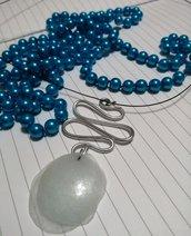 Ciondolo wire argento