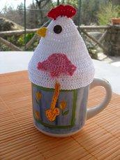 Gallo copri tazza