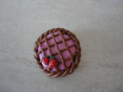 Spilla Crostata con fragoline