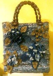 Borsa Handmade in lana