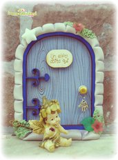 Porta degli elfi, porta delle fate, fairydoor, elfdoor, porticina magica