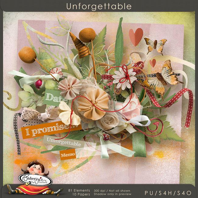 Unforgettable {scrapkit}