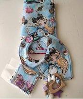 Portapannolini Alice in Wonderland