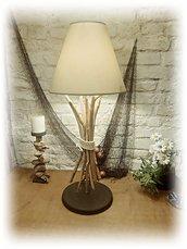 Lampada con legni di mare,lamp with driftwood,regalo,arredo casa al mare/montagna