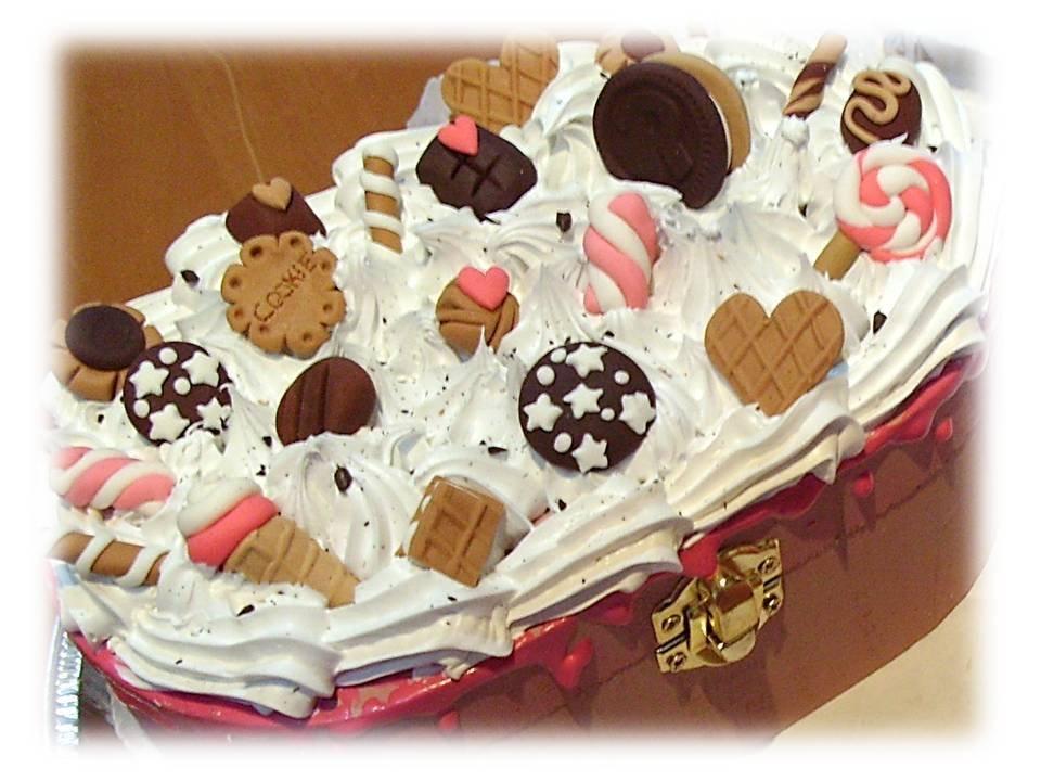Scatola golosa- glassa dolcetti e panna