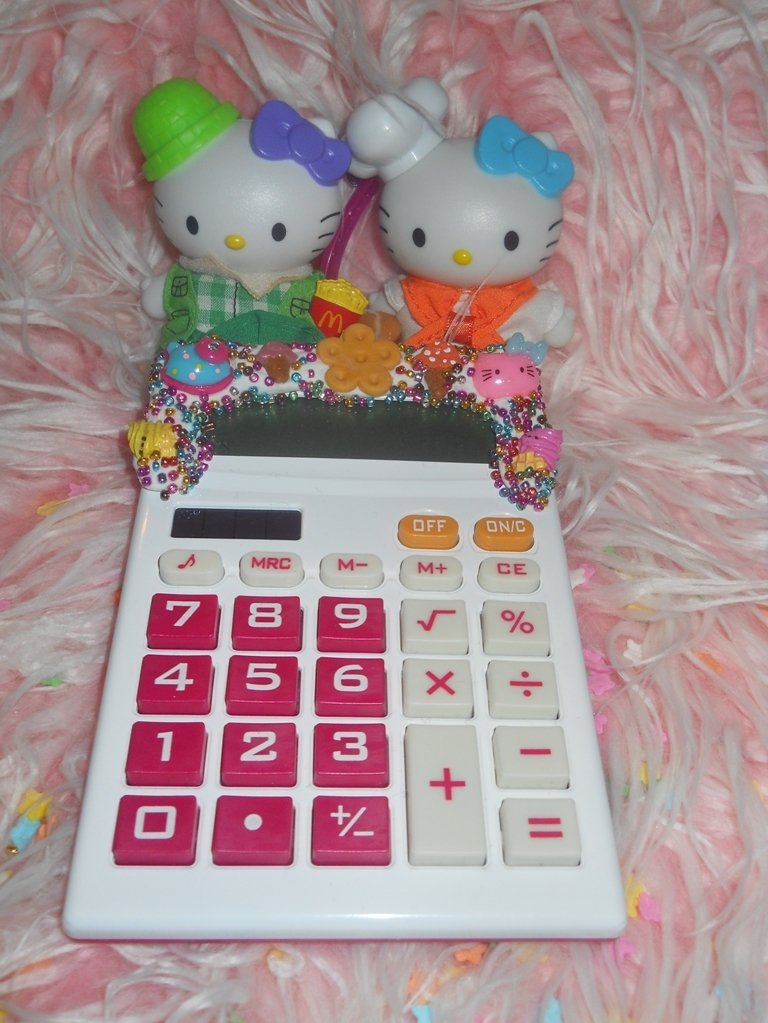 KAWAII HELLO KITTY CALCULATOR