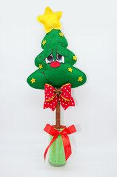 Alberello natalizio sognatore profumato e decorativo, 41 x 19 cm