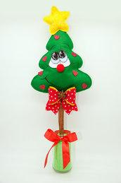 Alberello natalizio romantico profumato e decorativo, 41 x 19 cm
