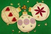 Set palline Natale fantasia