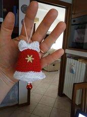 Campanella Natale amigrumi