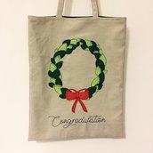 The shopper bag mod. corona alloro
