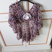 Shawl crochet handmade