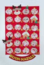 Il calendario dell'avvento, 70 x42 cm, GRATIS un piccolo cadeau