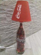 Lampada Coca-cola in rosso