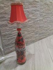Lampada Coca-cola rossa