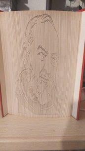 Libro scultura Padre Pio