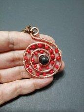 Ciondolo talismano spirale