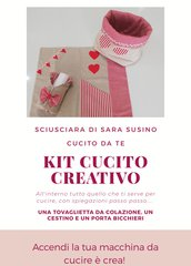 Kit cucito creativo bauletto.