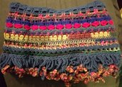Sciarpa handmade in lana merinos