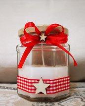 Candela profumata decorazione natalizia