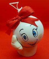 Collezione Faccine - Natale - 6 cm.