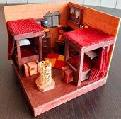 Dormitorio Grifondoro ispirato ad Harry Potter