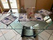 Completo centrini per la tavola handmade