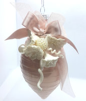 Collezione Fiori - Natale . Pallina 10 cm