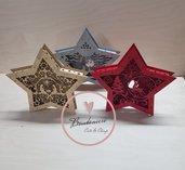Promozione 4 pezzi spedizione gratuita lampada led  a forma di stella tema natale