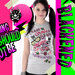 T-shirt Killing Capera dark emo punk wonderland kawaii