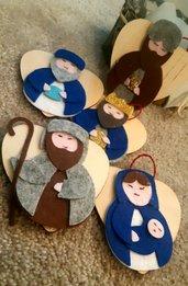 Decorazioni natalizie handmade in feltro
