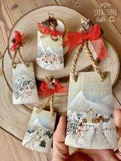 Tegoline natalizie by Creazioni GiaRó  Ⓒ